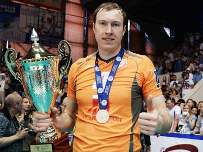 Олимпийский чемпион по волейболу Тарас Хтей