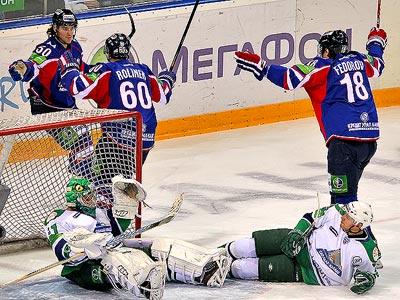 Итоги игрового дня КХЛ. 26 февраля 2012 года. Часть первая