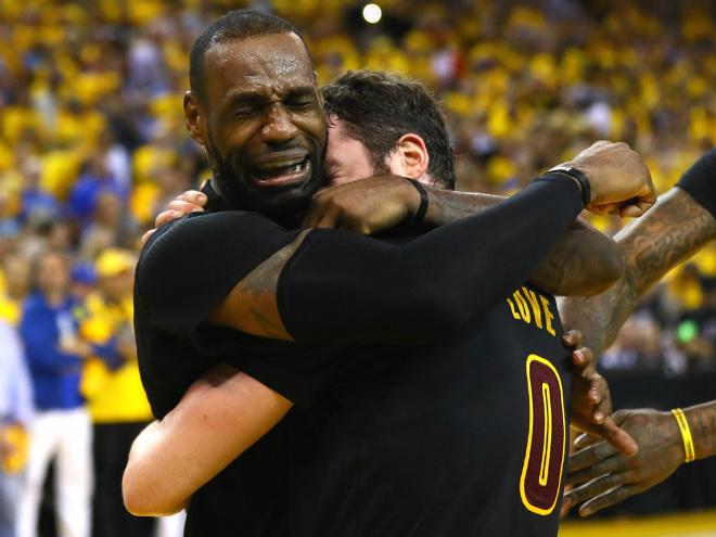 «Кливленд» победил «Голден Стэйт» в матче № 7 финала НБА-2016