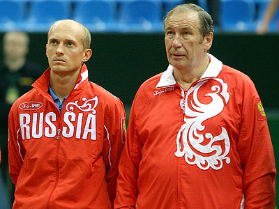 Николай Давыденко и Шамиль Тарпищев