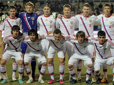 Сборная России стартует на молодёжном Евро