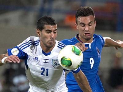 Израиль и Азербайджан сыграли вничью 1:1