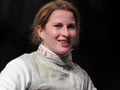 Чемпионка Европы Инна Дериглазова