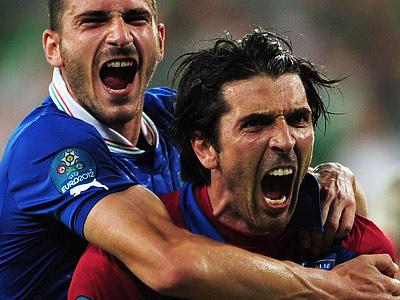 Сборная Италии одолела англичан в серии пенальти