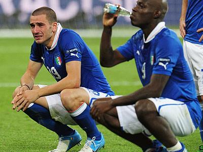 Леонардо Бонуччи после матча плакал
