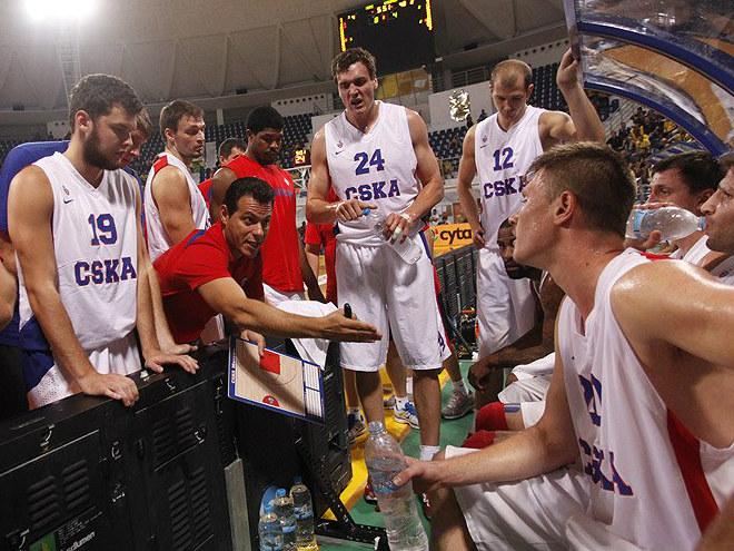 ЦСКА стал вторым на предсезонном Кубке Галиса