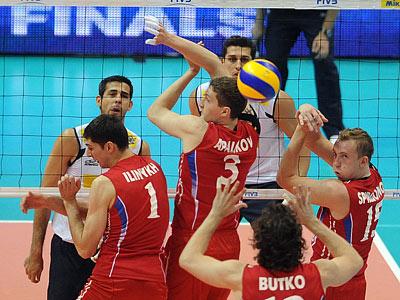 Россия — Бразилия: пятый финал