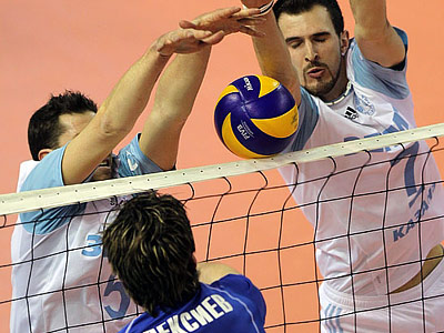 Итоги четвертьфиналов мужского чемпионата России по волейболу