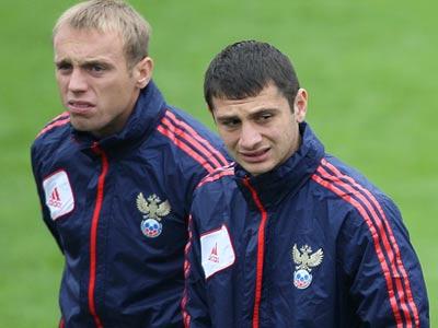 Денис Глушаков и Алан Дзагоев