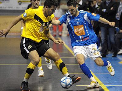 Первый финальный матч в итальянском мини-футболе