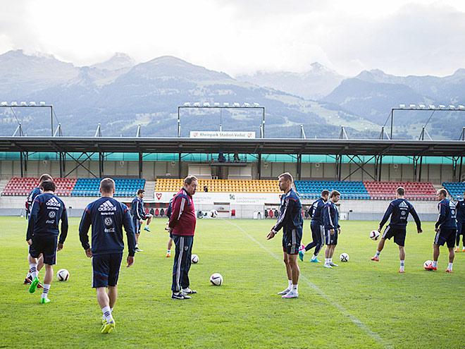 Как сборная готовится к матчу с Лихтенштейном
