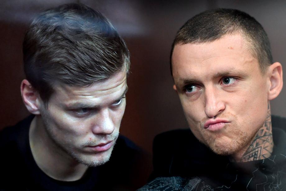 Кокорина и Мамаева арестовали на два месяца. Что это значит