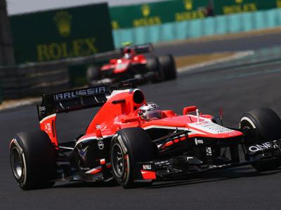 «Маруся» на Гран-при Венгрии