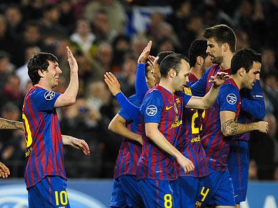"""30 мячей """"Барселоны"""""""