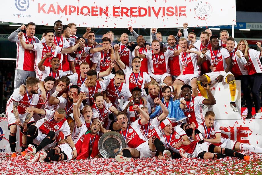 «Аякс» — чемпион Нидерландов