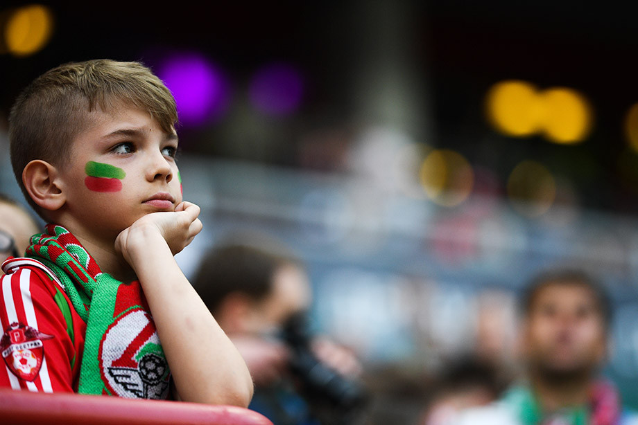 Фанаты «Локомотива» молчали на Суперкубке России