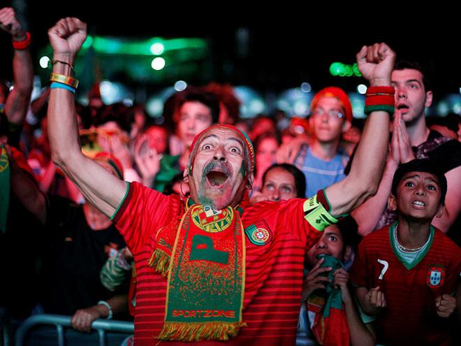 Лучшие фото 17-го игрового дня Евро-2016