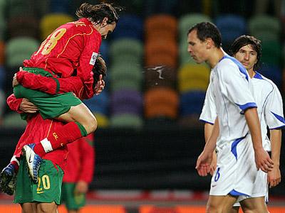 Россия и Португалия поспорят за лидерство в группе