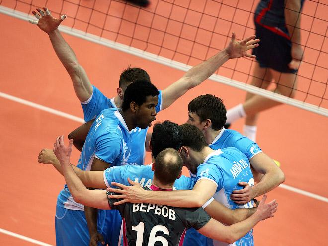 Волейболисты казанского «Зенита»
