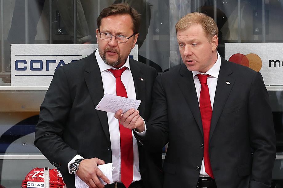 Игорь Уланов и Алексей Жамнов