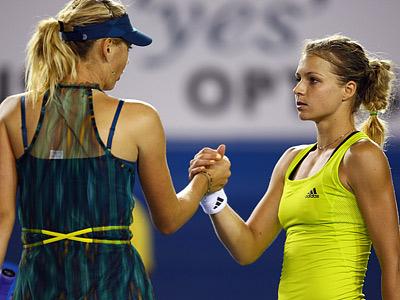 Лондон-2012. Теннис. Шарапова и Кириленко