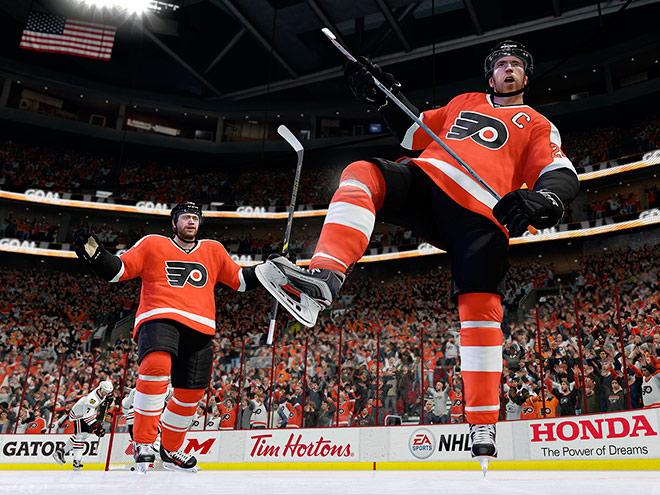 Обзор хоккейного симулятора NHL 17