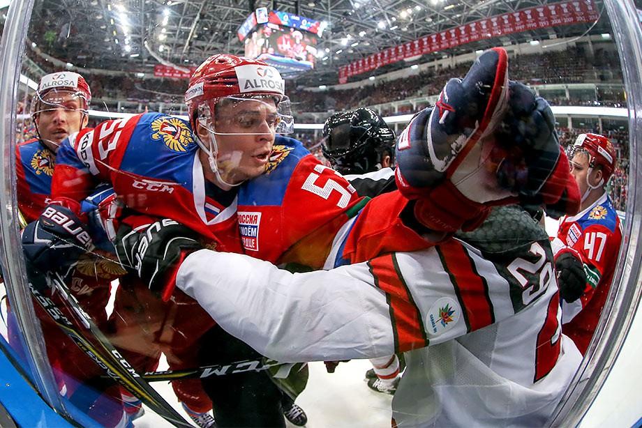 Россия — Канада — 2:0