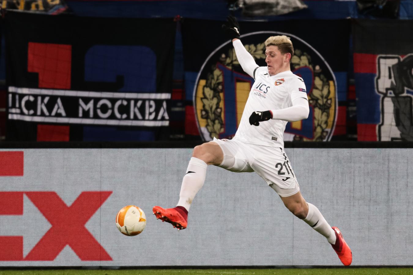 Нападающий ЦСКА Гайч попал в сферу интересов «Интера» и «Милана»