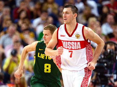 Лондон-2012. Баскетбол. Виталий Фридзон