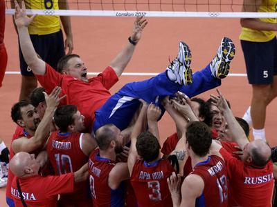 Лучшие волейболисты года - Тетюхин и Старцева