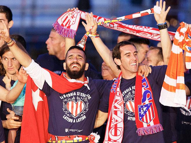 «Атлетико» стал чемпионом Испании