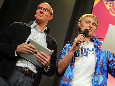 Дмитрий Чернышенко и Иван Скобрев