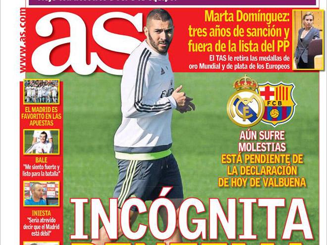 Испанские СМИ о предстоящем матче «Реал» - «Барселона»