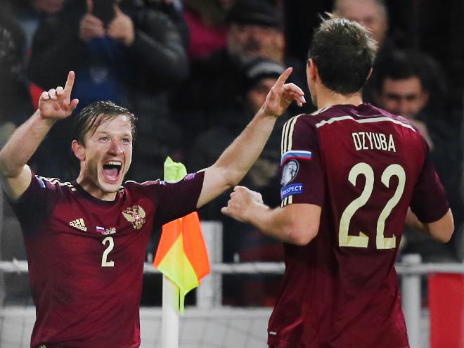 Итоги отборочной кампании сборной России