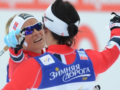 Тереза Йохауг и Марит Бьорген