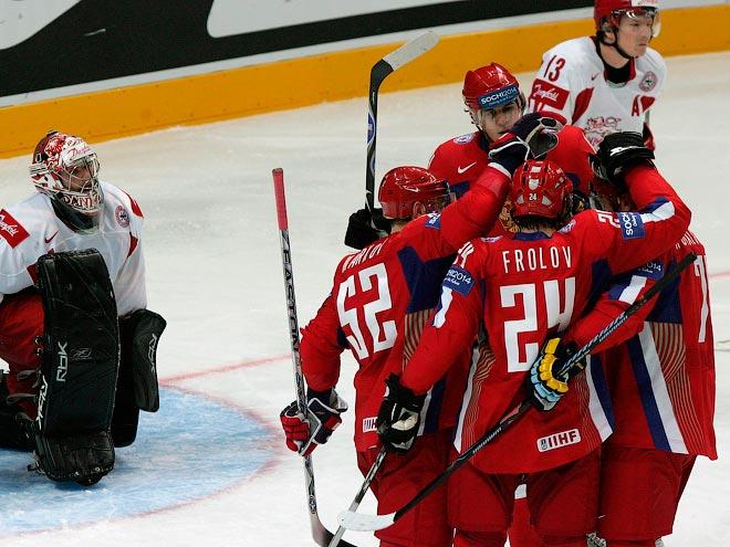ЧМ-2007. Россия – Дания – 9:1