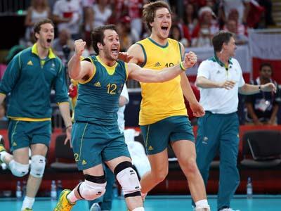 Лондон-2012. Волейбол. Австралия обыграла Польшу