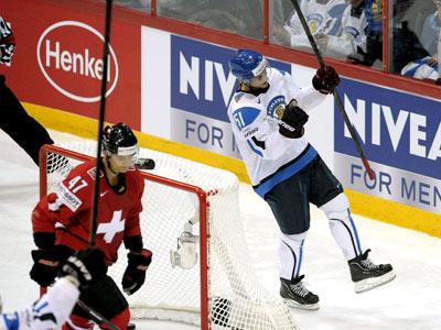 Сборная Финляндии одержала очередную победу на чемпионате мира