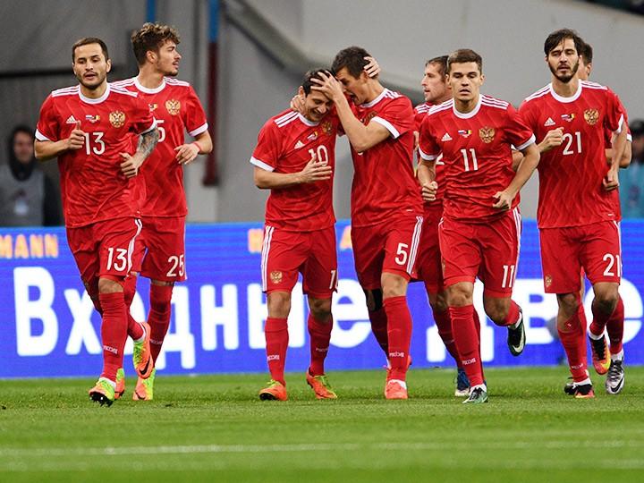 Товарищеский матч. Россия – Бельгия – 3:3