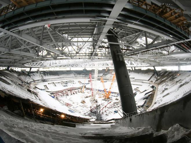 Экскурсия по стадиону «Зенит Арена»