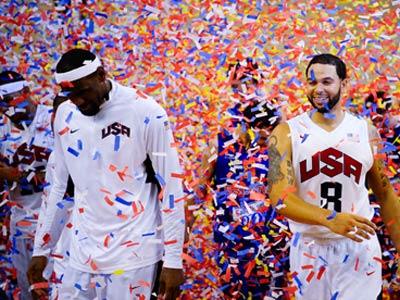 Американцы ожидаемо будут главными фаворитами Олимпиады