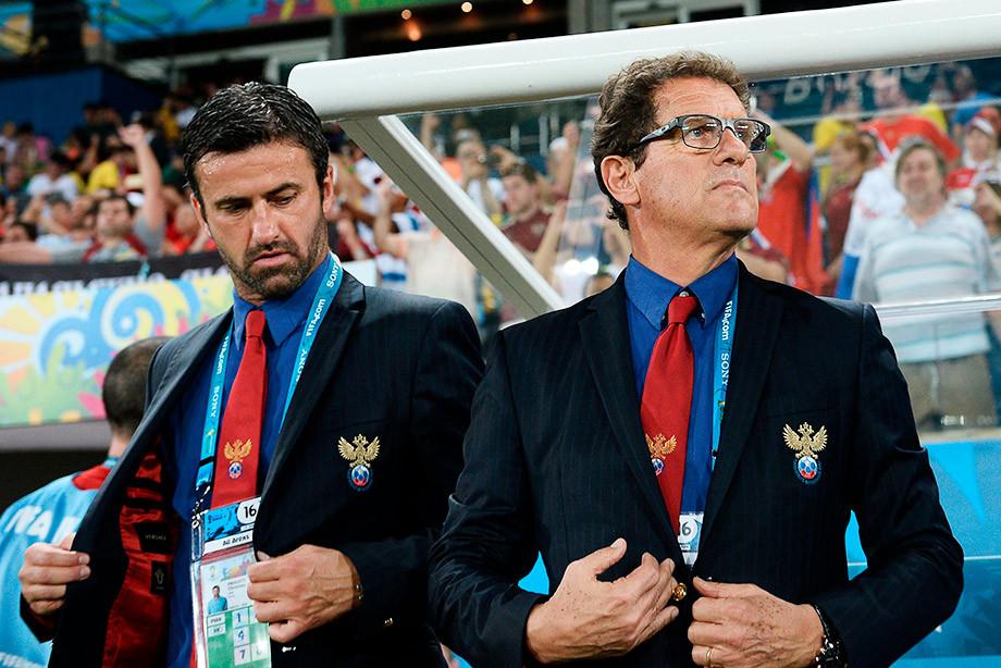 Фото РИА Новости Экс-тренер сборной России подал в суд на бывшего президента Албании