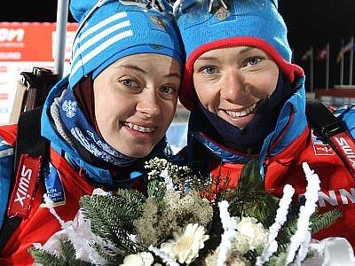 Ольга Вилухина и Ольга Зайцева