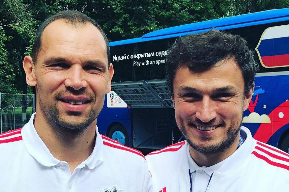 Сергей Игнашевич и Эдуард Безуглов