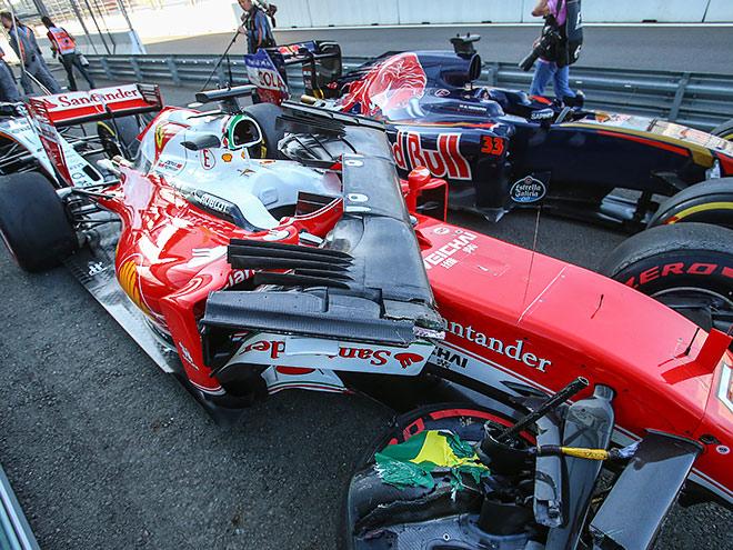 Даниил Квят на Гран-при России Формулы-1 на «Сочи Автодроме»