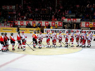 Еврочеллендж Швейцария - Россия - 2:1