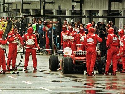 Машина времени: Гран-при Великобритании — 1998