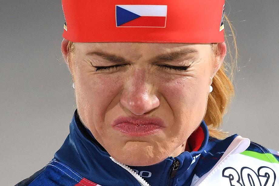 Чешская биатлонистка Коукалова невыступит всезоне