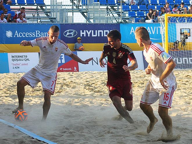 Пляжный футбол. Трансляция матча Россия - Венгрия