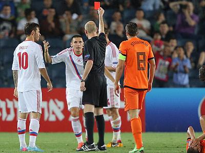 Россия U21 — Нидерланды U21 — 1:5